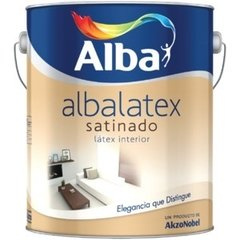 Albalatex Interior Satinado Blanco X 4 Lts