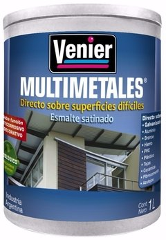 Pintura Multimetales Venier Colores X 3,6 Lt
