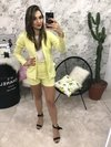 Short Candy Amarelo