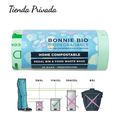 Bolsas Biodegradables y Compostables bonnie bio