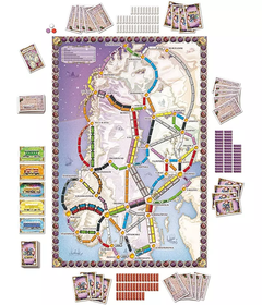 Ticket to RIde Países Nórdicos - Távola Games
