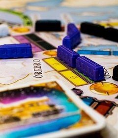 Ticket to RIde Países Nórdicos na internet