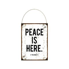 Peace is here