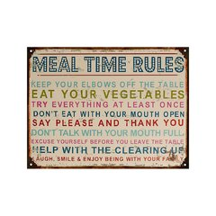 Meal Time Rules