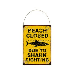 Beach closed surf