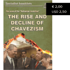 The rise and decline of chavezism - comprar online