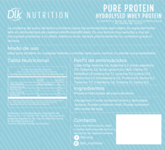 Hydrolysed Whey - Pure Protein - 250g - comprar online