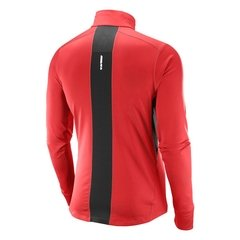 Remera Salomon Trail Runner Warm Mid- Hombre - comprar online