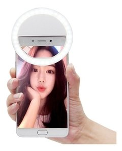 Aro De Luz Led Para Celulares Selfie Streaming (759) - PLUSCOLOR