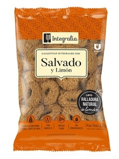 Galletitas Salvado Y Limón Integralia 200gr
