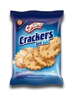 Crackers Sin Sal Smams 150gr