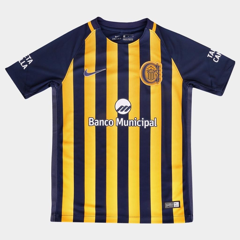 Goma de dinero Estadístico lápiz  Camiseta NIKE Rosario Central Oficial Stadium 2017 KIDS