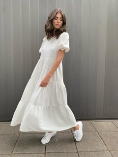 Vestido Helena - Off White na internet