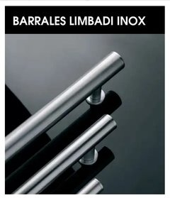 Barral Simple Acero Inoxidble Currao Limbadi 200 - 300 X 38 Mm - comprar online