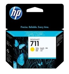 CARTUCHO HP 711 AMARILLO ORIGINAL 29 ml
