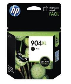 CARTUCHO HP 904 XL  NEGRO ORIGINAL  T6M16AL
