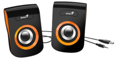 PARLANTES GENIUS SQ 180 COLORES, USB