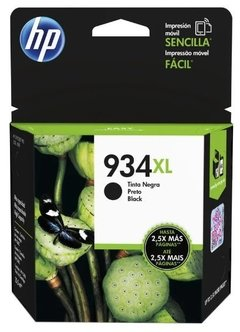 CARTUCHO HP 934 XL NEGRO