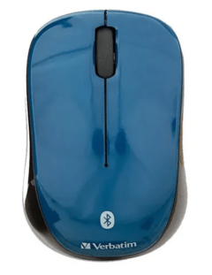 MOUSE INALAMBRICO VERBATIM TABLET BLUETOOTH AZUL
