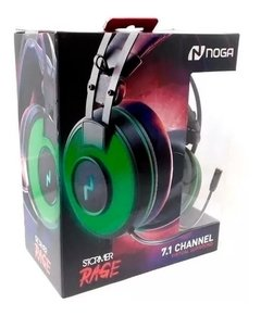 Auriculares GAMERS RAGE Noganet para PC/PS4 7.1
