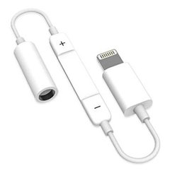 Adaptador Auricular iPhone Lightning - Miniplug 3.5mm wuw