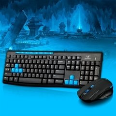 Teclado + Mouse Gamer Inalambrico Hk 3800 Pc Ps4