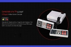 Consola Family ,Level Up, Retro Nes Av Tv 500 Juegos Incluidos - comprar online
