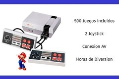 Consola Family ,Level Up, Retro Nes Av Tv 500 Juegos Incluidos