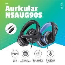 Auriculares Gamer Ps4 Xbox Pc Cel Nisuta Nsaug90s Mute Mic en internet