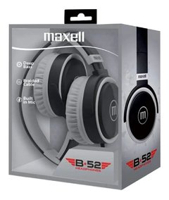 Auriculares Maxell Wireless Headphones B-52 Bluetooth