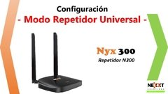 ROUTER- REPETIDOR NEXXT WIRELESS-N NYX300 - comprar online