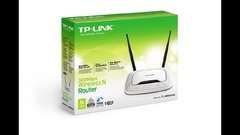 Router Tp-link Tl-wr841n /wireless-n/4 Puertos/5 Dbi/300mbps