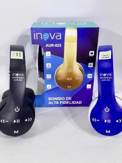Auricular Vincha Bluetooth iPhone Android Pc Note Inova - comprar online