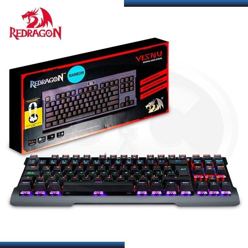 TECLADO GAMER REDRAGON K561 VISNU MECANICO RAINBOW
