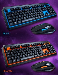 Kit Teclado Gamer Combo Mouse Inalambrico  Noga Nkb-40 en internet