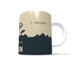 Caneca de Porcelana Abduction The Human na internet