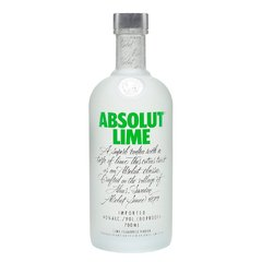 VODKA ABSOLUT LIME x750cc