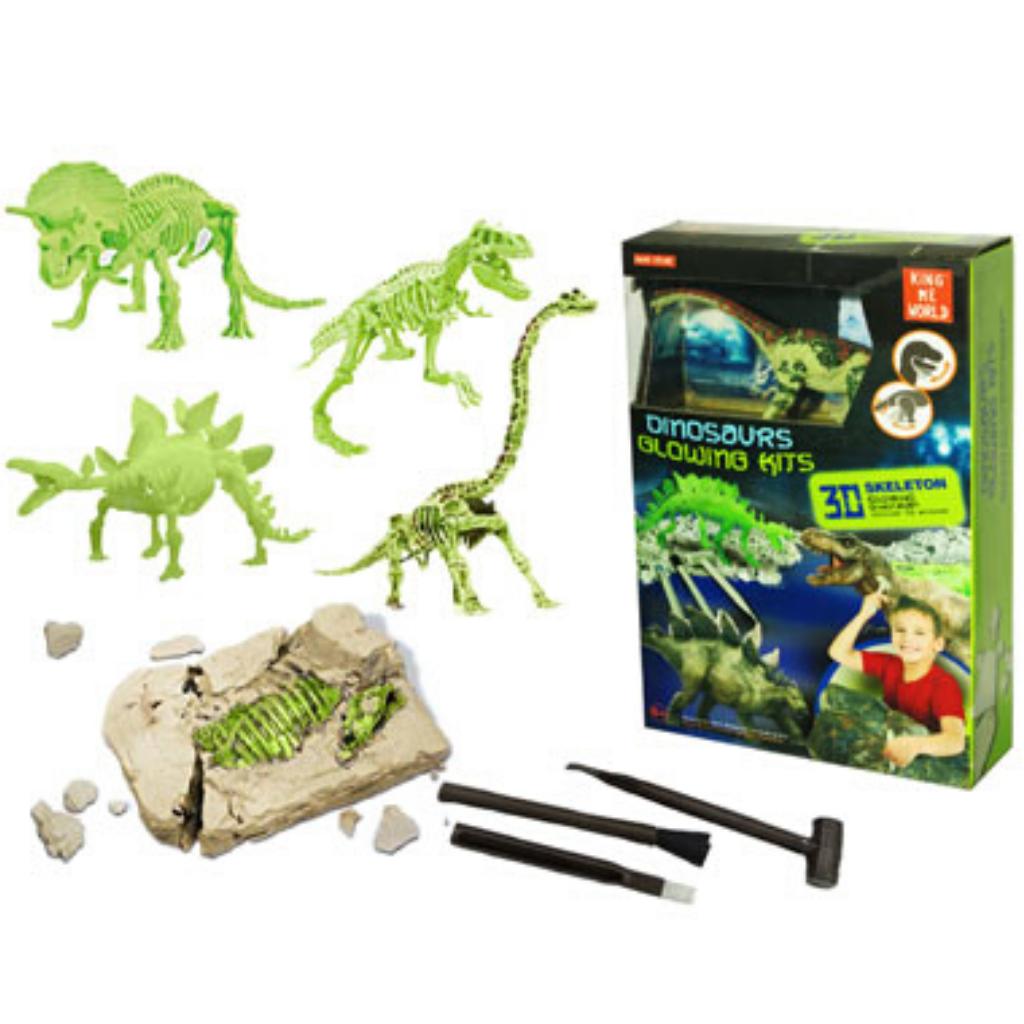 Set Excavacion Dinosaurios Brilla En La Oscuridad ¿por qué comprar pijamas que brillan en la oscuridad? set excavacion dinosaurios brilla en la