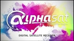 receptor alphasat chroma