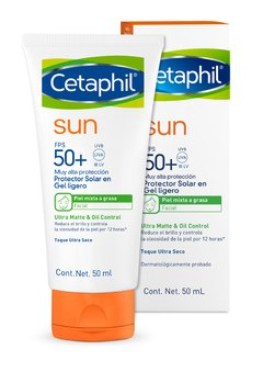 Cetaphil SUN Ultra Mate Oil Control FPS50 Sin Color x 50ml