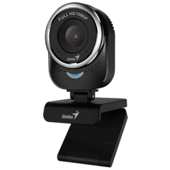 WEBCAM | CAMARA WEB | GENIUS  QCAM 6000 | 1080P FULL HD | CON MICROFONO | STREAMING