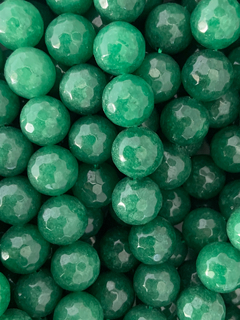 Jade Verde Bola Lisa 14mm -  CRYSTAL RIO