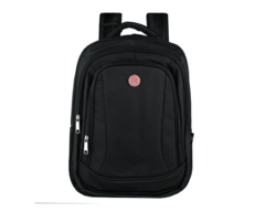 Mochila notebook executiva preto com entrada usb