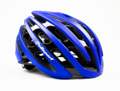 CAPACETE CICLISMO POLISPORT RIGHT ROAD PRETO AZUL M 55/58 - Bike House