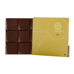 CHOCOLATE 70% DE CACAU DIET 75G - MENDOÁ CHOCOLATES