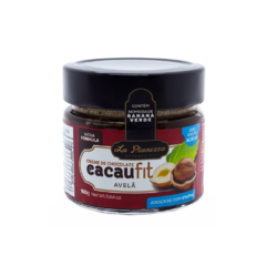 CREME DE CHOCOLATE CACAU FIT AVELÃ 160G - LA PIANEZZA