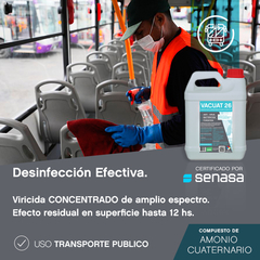 Imagen de VACUAT 26 Desinfectante concentrado Bidón 5 Lts