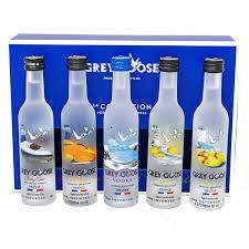 Grey Goose Vodka Miniaturas 5x50ml