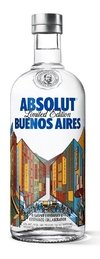Absolut Buenos Aires Vodka 750 ml.