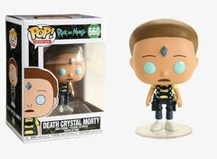 Funko Pop, Morty con Cristal de la Muerte, Rick & Morty